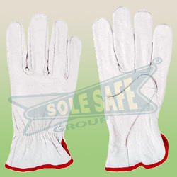 Driving Leather Hand Gloves