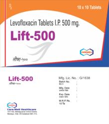 Lift 500 Levofloxacin Tablets