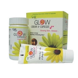 Beauty Cream Glow Cream and Capsule
