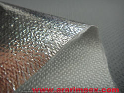 Aluminized Fiber Glass Fabric