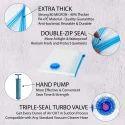 Vacuum Store Bags Size 60 Cm X 80 Cm ( Medium ) - Hand Pump Free