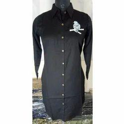 Ladies Black Casual Shirt