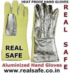 Aluminium Hand Gloves
