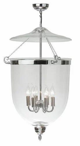 Glass bell jar georgian lantern vintage glass dome bell jar georgian lantern vintage glass dome bell jar pendant light aloadofball Choice Image