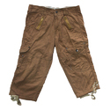 Men Cotton Washed Cargo