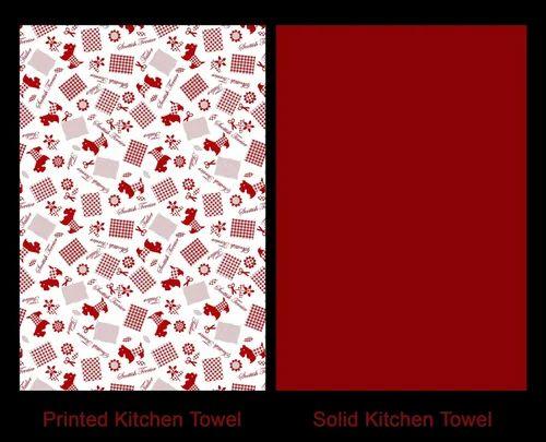 Kitchen Towel Set - Leaping Reindeer Christmas Tea Towel ...