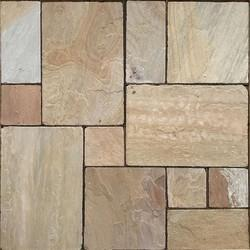 Tumbled Camel Dust Sandstone Paving