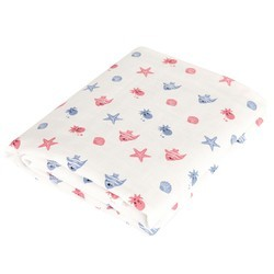 Multi-Colored Muslin Baby Towel
