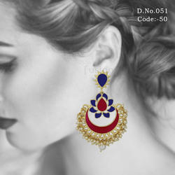 Meenakari Hanging Earrings