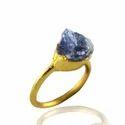 Tanzanite Rough Stone Ring