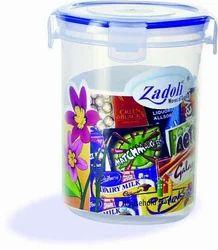 Plastic Locked Airtight Round Container 750ml