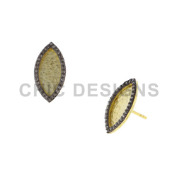 Hammered Stud Earrings