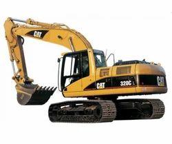 Caterpillar Excavator Machine Rental Service