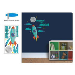 Mission to Moon Wall Graphics