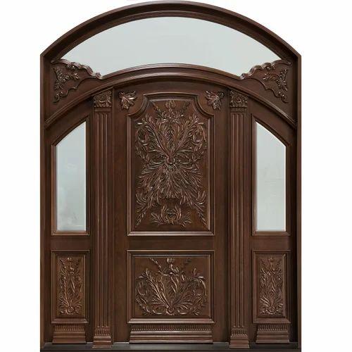 Wooden carved doors exterior wooden carved door - Exterior wood door manufacturers ...