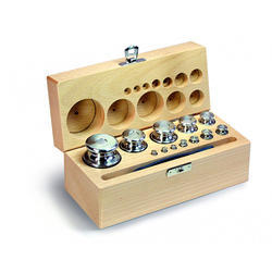 Wooden Calibration Weights Box