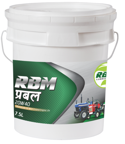 Tractor Engine Oil & Calcium And Lithium Based Grease