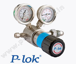 P-Lok High Pressure Piston Type Cylinder Regulator