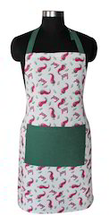 Chilli Print Kitchen Apron