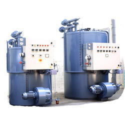 Three Pass Thermic Fluid Heater
