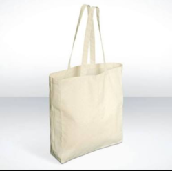 Canvas Box Shopping Bags