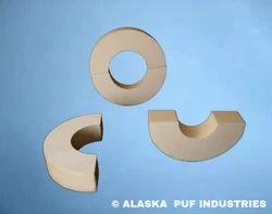 Rigid PU Foam Pipe Supports