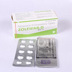 Rabeprazole 20 mg Domperidone 10 mg