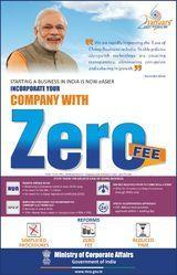 Zero Fee Company Registration
