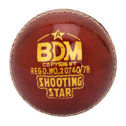 BDM Shooting Star Cricket Leather Ball