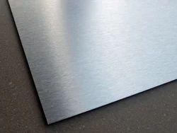 Brush Silver Aluminium Composite Panel - ( ER 501)