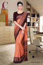 Office Wear Uniform Saree