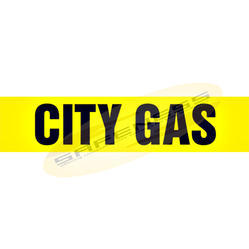 City Gas Pipe Markers
