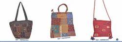 Multi Color Ethnic Hand Embroidered Sling Fashion Bag