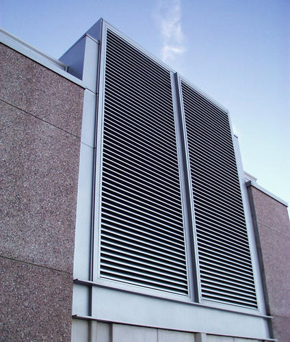 Aluminum Louver Aluminum Louvers Manufacturer From Chennai