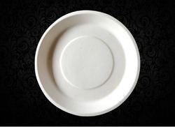 Biodegradable Sugarcane Plate