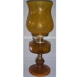 Amber Color Oil Lamp