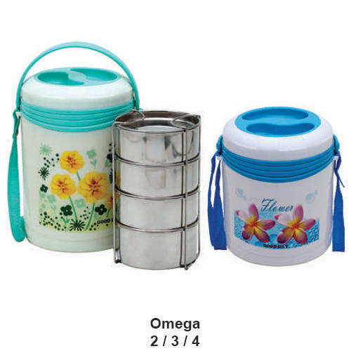 Omega Insulated Lunch Tiffin