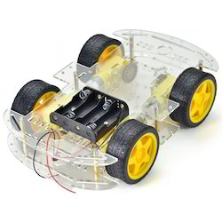 Robotics Accessories 4wd Smart Motor Robot Car Chassis Wholesale