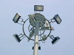 LED Ventura Raising and Lowering System High Mast Pole