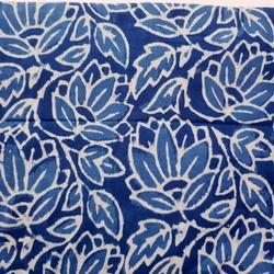 New Indian Hand Block Print 100% Cotton Indigo Fabric Natural Printed Garments