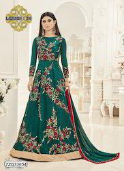 Heavy Silk Anarkali Suit