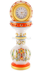 Decorative Marble Pillar Clock