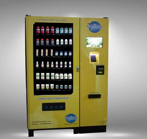 Smart Medicine Vending Machine with QR Scanner