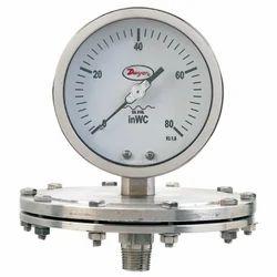 Series SGP Stainless Steel Low Pressure Schaeffer Gage