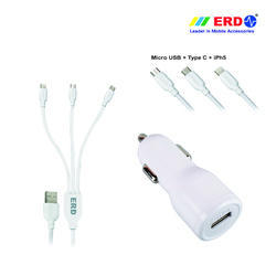 CC 50 Multi 91 White Car Charger