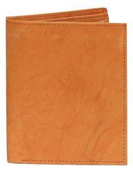 Yellow Tan Leather Wallet