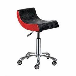 BNB Stool Red & Black Chair
