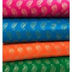 Ikkat Jacquard Fabric