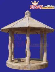 Sand Stone Gazebo