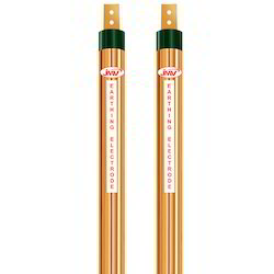 Solid Copper Grounding Rod - Externally Threaded